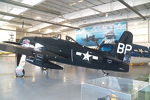 WWll Bearcat at Palm Springs Air Museum