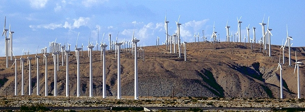 palm springs windmills, southern california