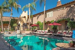 andreas hotel palm springs, california