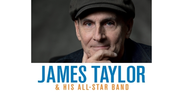 James Taylor at Honda Center, Anaheim, Southern California 10/30/21. Buy Tickets on PalmSprings.com