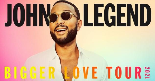 John Legend Tickets! Greek Theatre, Los Angeles, CA 9/21/21
