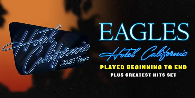 The Eagles at The Forum Los Angeles / Inglewood, CA Oct 15, 16, & 19, 2021. Buy Tickets Here on PalmSprings.com