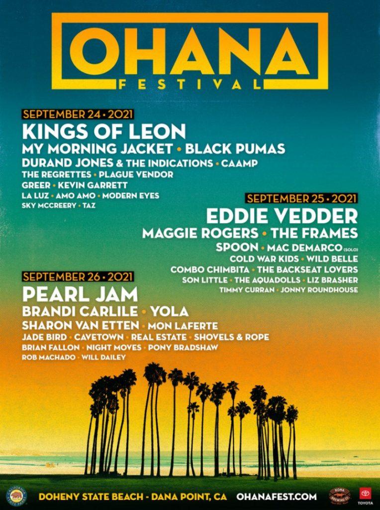 Ohana Music Festival 2021 Lineup & Tickets