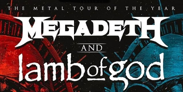Megadeth & Lamb of God at FivePoint Amphitheatre, Irvine / Los Angeles 9/1/21. Buy Tickets on PalmSprings.com