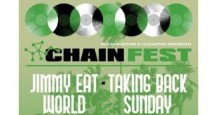 Chain Fest Tickets! FivePoint Amphitheatre, Irvine / Los Angeles 10/23/21
