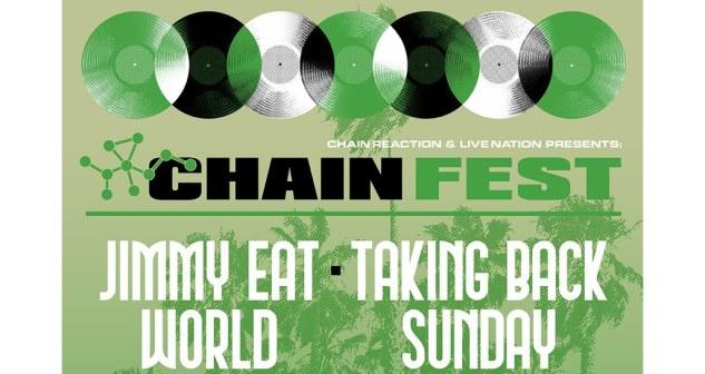 Chain Fest Tickets! FivePoint Amphitheatre, Irvine / Los Angeles 5/29/21.
