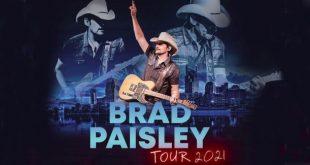 Brad Paisley Tickets! Irvine / Los Angeles, FivePoint Amphitheatre 10/9/21