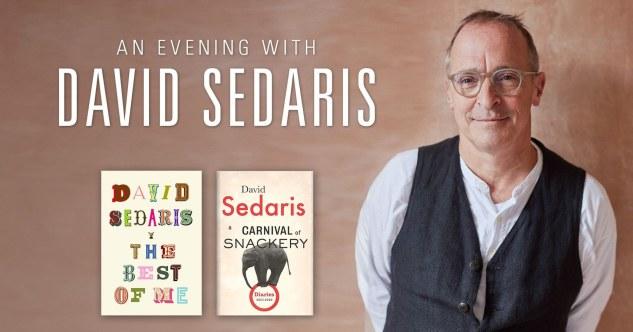 David Sedaris at Camelot Theatres, Palm Springs 11/13/21